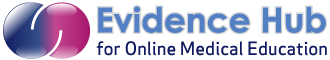 Evidence Hub for Online Medical Education